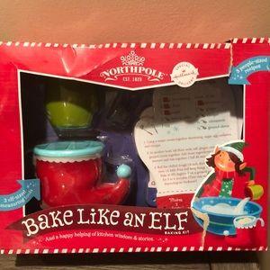 Hallmark North Pole Bake Like an Elf baking kit